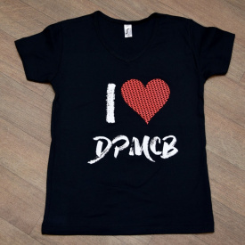 Dámské triko I love DPMCB