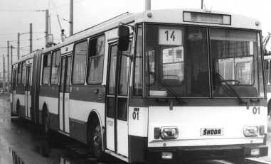 Opětovný nástup trolejbusů...