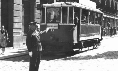 The Beginning of the City Public Transport in České Budějovice