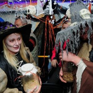 Halloweenská jízda 2015