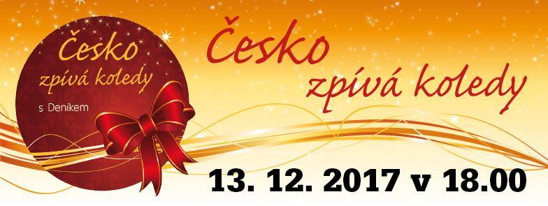 Česko zpívá koledy 2017