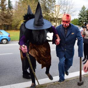 Halloweenská jízda 2017