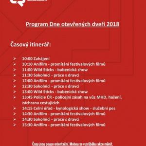Den otevřených dveří DPMČB 2018