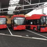 Elektrobusy nové generace v Českých Budějovicích