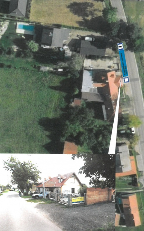 Dočasný přesun zastávky Roudné, Zastávka (směr Roudné, Náves)
