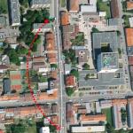 Dočasný přesun zastávky Poliklinika Jih (směr Rožnov)