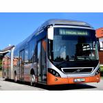 Dopravní podnik města České Budějovice zahájil testovací provoz hybridního autobusu