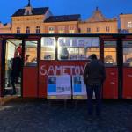 Události roku 1989 v Českých Budějovicích připomněla Sametová linka