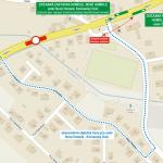 Dočasný přesun zastávky Homole, Nové Homole