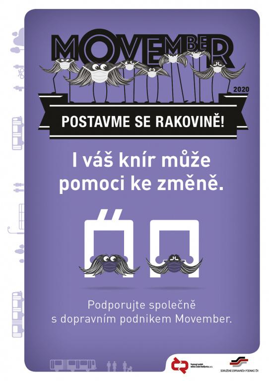 Movember - Muži proti rakovině