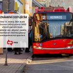 12. dubna obnoví českobudějovický Dopravní podnik běžný provoz