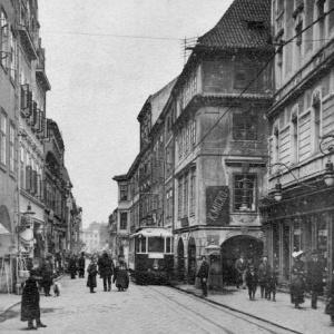 Dobové foto – Ulice Krajinská