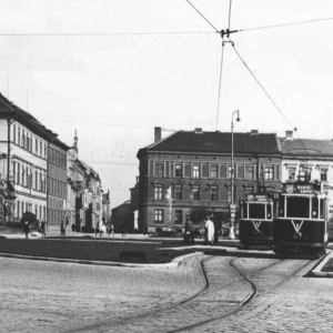 Dobové foto – Mariánské náměstí