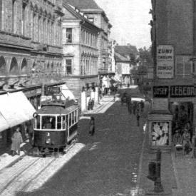 Period photo –  Karel IV Street