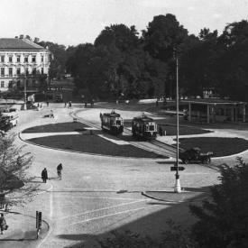 Period photo – Mariánské náměstí