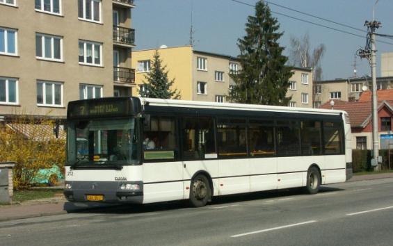 Nízkopodlažní Renault Karosa Citybus