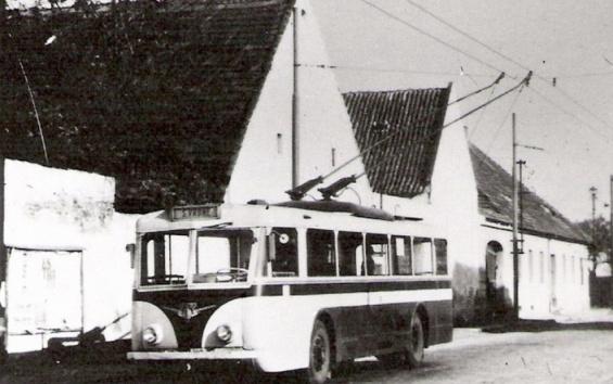 Vetra trolleybus