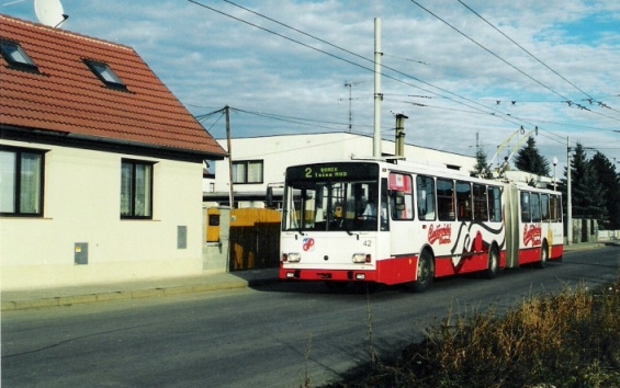 Rožnov - the terminal loop
