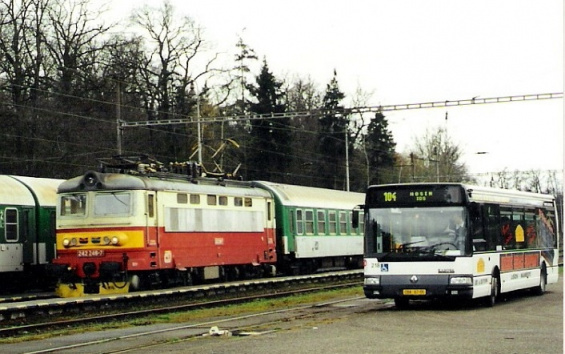 Railway station Hluboká nad Vltavou
