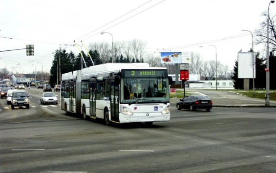 TrolleybusŠkoda 25Tr Irisbu