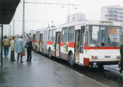 Trolejbusy potřetí