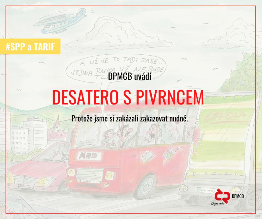 Dopravní podnik vybízí k dodržování přepravního řádu skrze ilustrace Petra Urbana