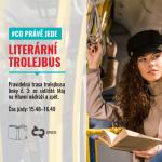 Budějovice ožijí literárním festivalem. DPMCB se zapojí skrze Literární trolejbus.